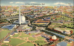 A View of Constitution Mall, New York World's Fair
