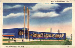 Food Building Number Three - New York World's Fair 1939