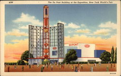The DuPont Building at the Exposition, New York World's Fair