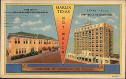 Hotel Falls, Buie Clinic and Marlin Sanitarium Bath House