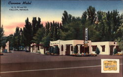 Cannon Motel Postcard