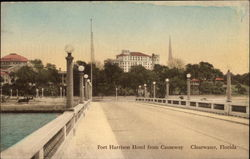 Fort Harrison Hotel from Causeway