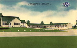 Bell-Aire Motel Postcard