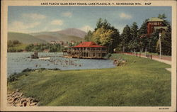 Lake Placid Club Boat House, Adirondack Mts