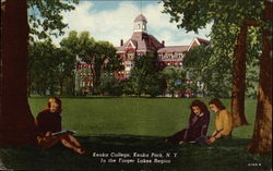 Keuka College, In the Finger Lakes Region Postcard