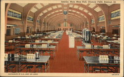 Interior, Main Mess Hall, Chanute Field