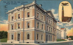 New and Old City Hall