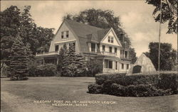 Needam Post No. 14 - American Legion Postcard