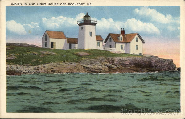 Indian Island Light House Rockport Maine