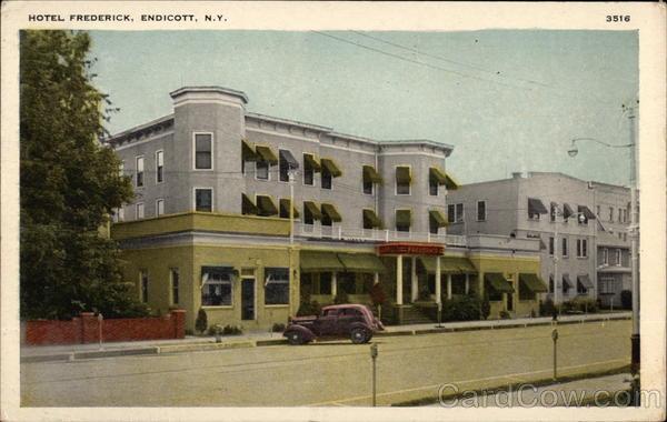 Hotel Frederick Endicott New York