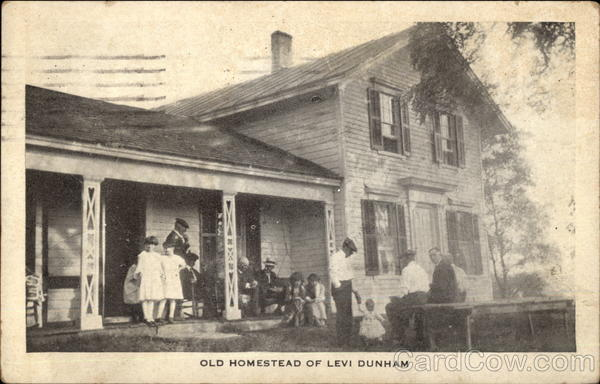 Old Homestead of Levi Dunham New York