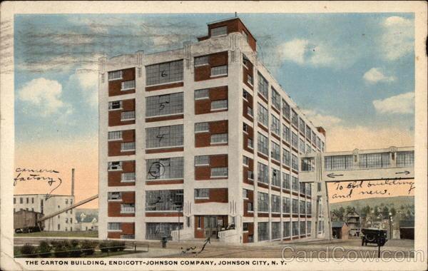 The Carton Building Endicott Johnson Company Johnson City Ny