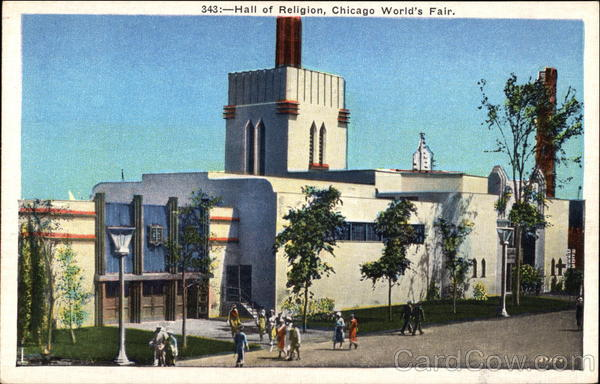 Hall of Religion Chicago Illinois 1933 Chicago World Fair