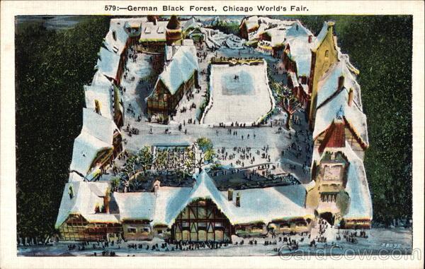 German Black Forest Chicago Illinois 1933 Chicago World Fair