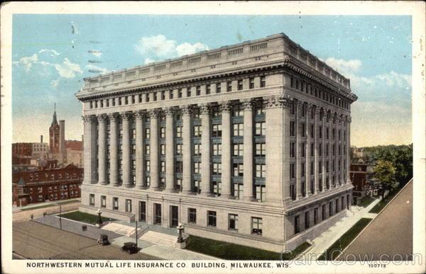 Northwestern Mutual Life Insurance Co Building Milwaukee Wi