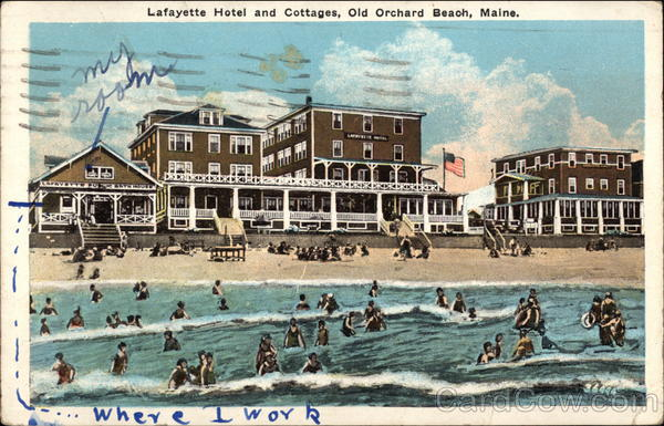 lafayette hotel and cottages old orchard beach me. Black Bedroom Furniture Sets. Home Design Ideas