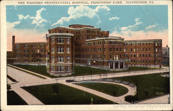 The Western Pennsylvania Hospital, Friendship Park Pittsburgh