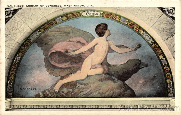 Ganymede, Library of Congress Washington District of Columbia