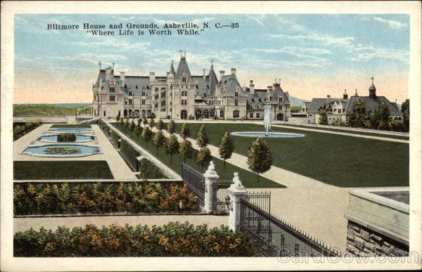 Biltmore House and Grownds Asheville North Carolina