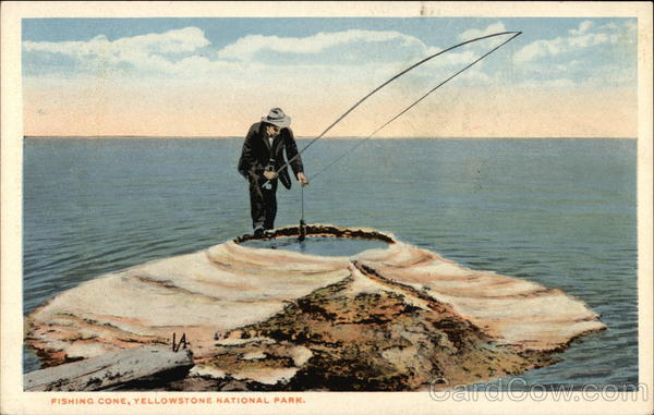 Fishing cone yellowstone national park mt for Yellowstone park fishing report