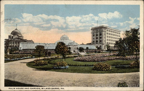 Palm House and Garden Wilkes-Barre Pennsylvania