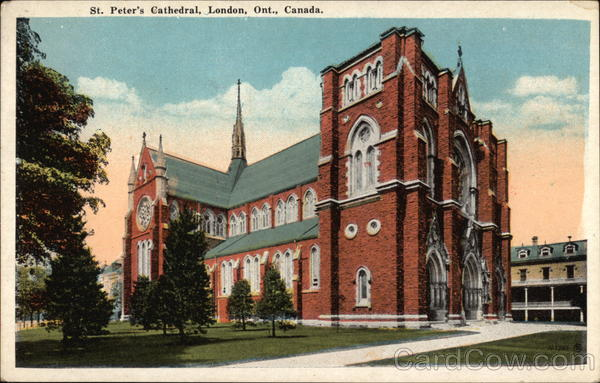 St. Peter's Cathedral London Canada Ontario