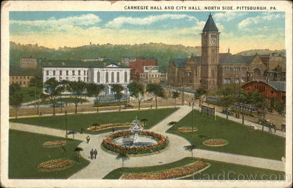 Carnegie Hall and City Hall, North Side Pittsburgh Pennsylvania