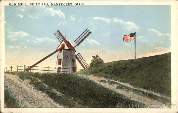 Old Mill, Built 1746 Nantucket Massachusetts