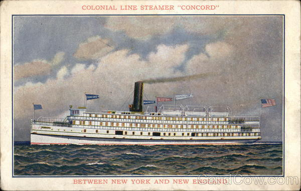 Colonial Life Steamer Concord Steamers