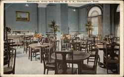 Restaurant, Army and Navy Y.M.C.A