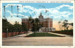 Cavalier Hotel, Looking South from Forecourt