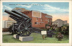 American Legion's Captured Gun