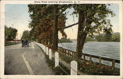 State Road Postcard