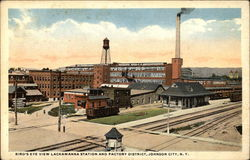 Lackawanna Station and Factory District