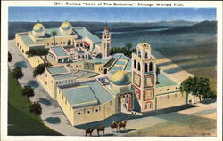 Tunisia - Land of the Bedouins - Chicago World's Fair Postcard