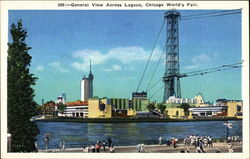 General View Across Lagoon Postcard