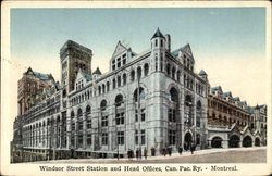 Windsor Street Station and Head Offices, Canadian Pacific Railway