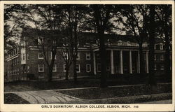 Girl's Dormitory, Albion College