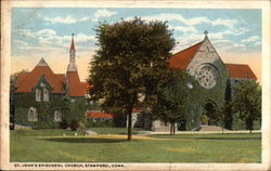 St. John's Episcopal Church Postcard