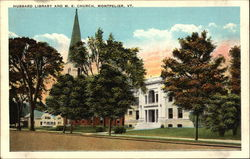 Hubbard Library and M. E. Church