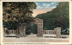 Entrance Arch, Watkins Glen Reservation