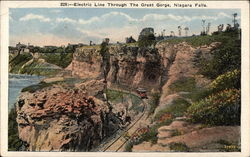 Electric Line Through the Great Gorge