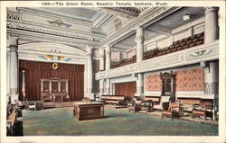 Masonic Temple - The Green Room
