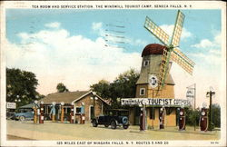 The Windmill Tourist Camp - Tea Room and Service Station