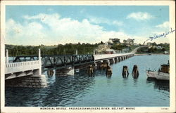 Memorial Bridge, Passagassawaukeag River