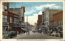Main Street From Monument Square