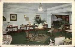 Hotel Vendig - Ladies' Writing and Reception Room