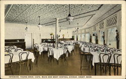 Interior, Young Brothers Cafe, Main and West Central Avenue