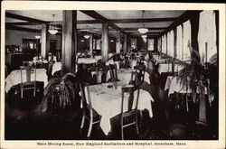 New England Sanitarium and Hospital - Main Dining Room