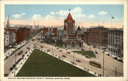 Copley Square Showing Trinity Church